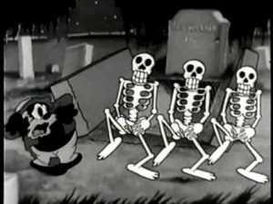 Uncle Tom aux prises avec des squelettes